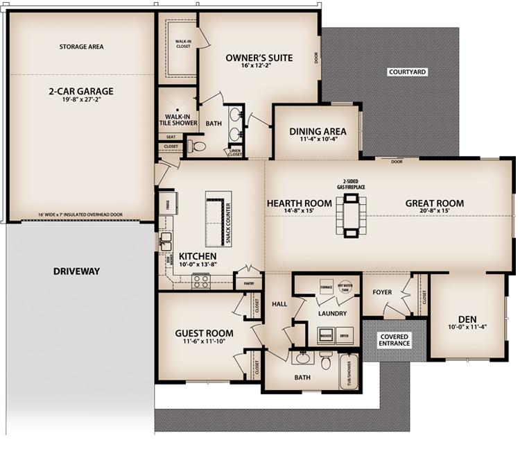 Villas at Brierwood Hamburg New York David Homes – David Homes Floor Plans