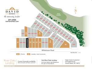 River Oaks Homesite Maps - click to view