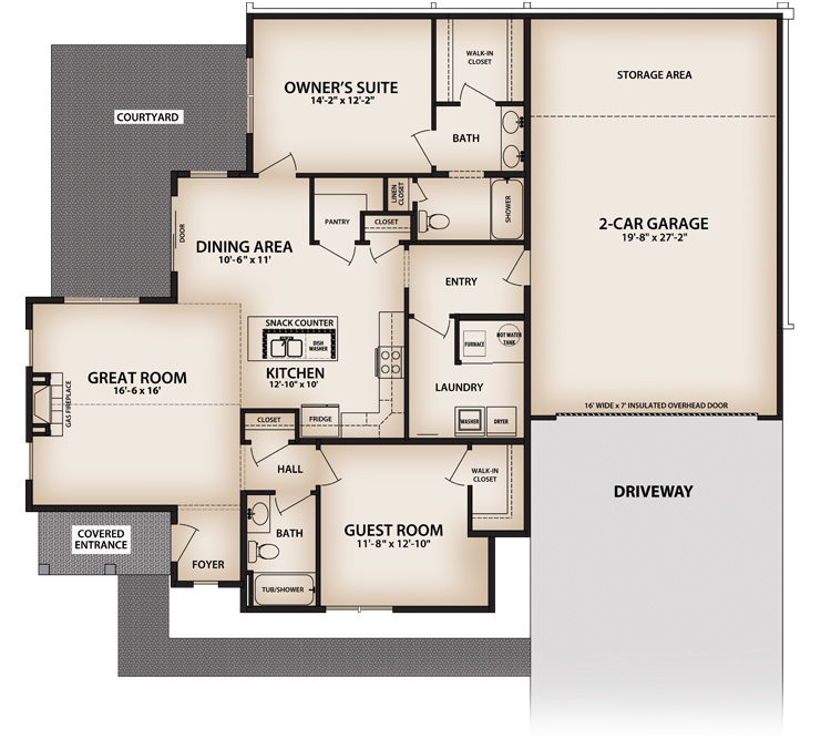 Bramante Floor Plan