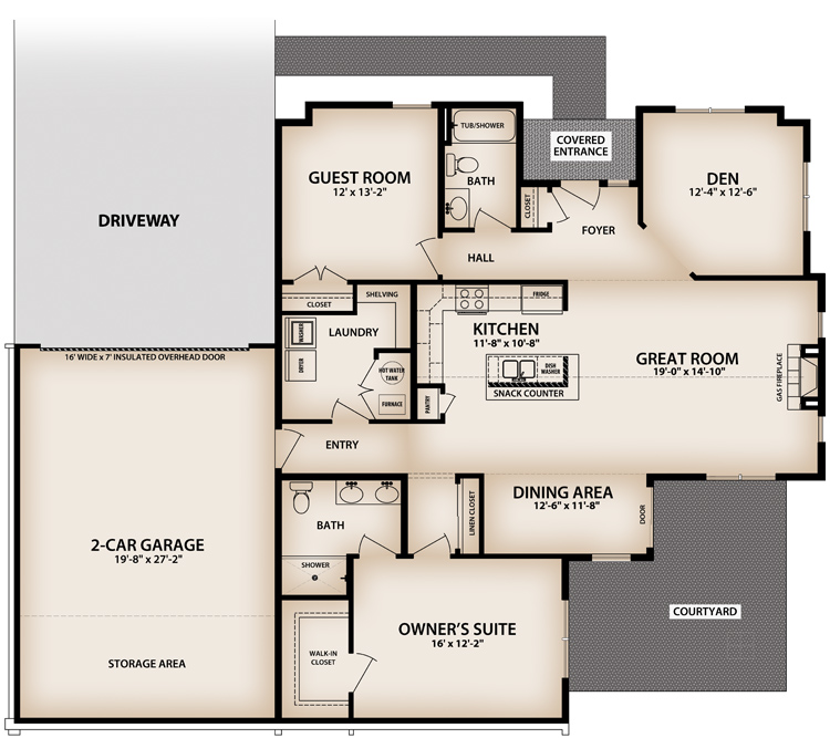 Colonnade Floor Plan - click to view