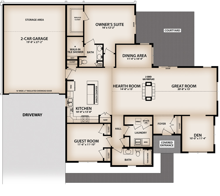 Ducal Floor plan
