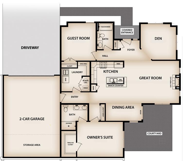Colonnade Floorplan